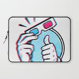Third Dimension Be Bitchin! Laptop Sleeve