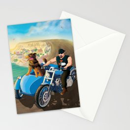 Riding with Rocco Stationery Cards