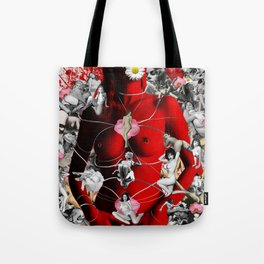 Fire Walks With Her Tote Bag