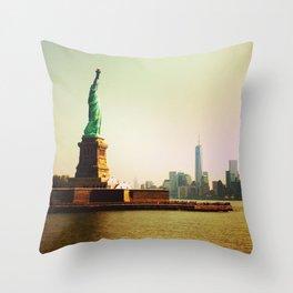 Freedom & Liberty Throw Pillow