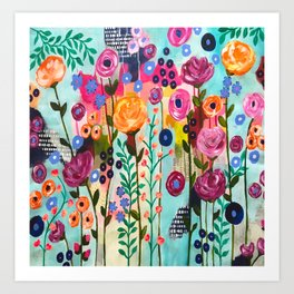 Boca to Miami Art Print
