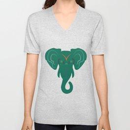elephant. Unisex V-Neck