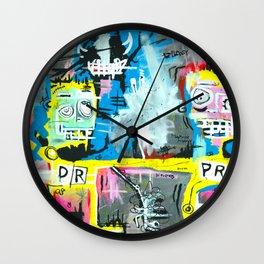 Frankie & Manny Wall Clock