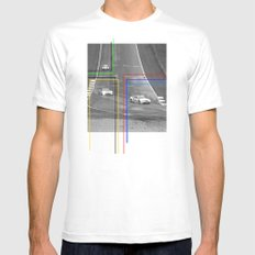 The Racing Line Mens Fitted Tee MEDIUM White