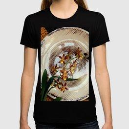 A Brushstroke Of Orchid Genus T-shirt