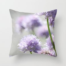 I dreamt of fragrant gardens Throw Pillow