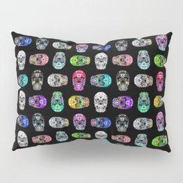 I love your Robotic Skull Heart on Black Pillow Sham