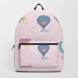 Sweet balloon dreams - pink Backpack