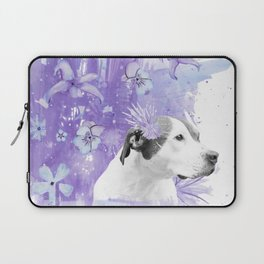 Sugarplum Pitbull Laptop Sleeve