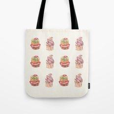 cake pattern Tote Bag
