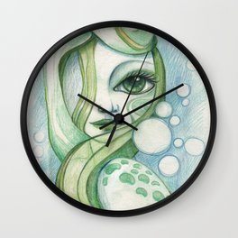 Voice Of The Sea Wall Clock