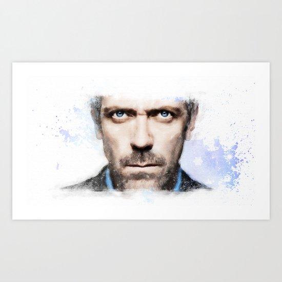 Dr.House Art Print
