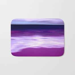 purple beach XII Bath Mat