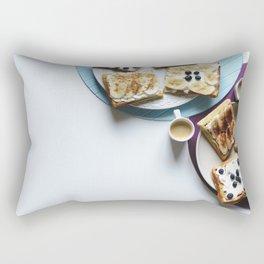 Typical Breakfast Rectangular Pillow