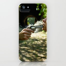 Hostage iPhone Case