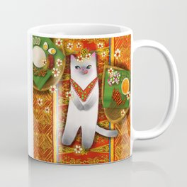 Cat Going for a Picnic series 2 Coffee Mug
