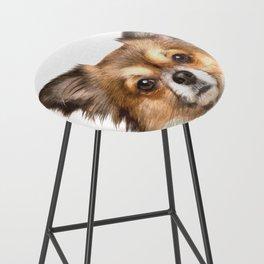 Chihuahua Portrait Bar Stool