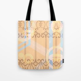 Celestial Chains Tote Bag
