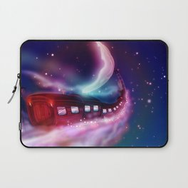 A Trip to the Moon by Locomotive Laptop Sleeve