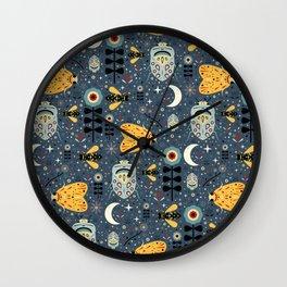 Midnight Bugs Wall Clock