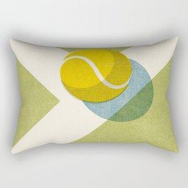 BALLS / Tennis (Grass Court) Rectangular Pillow