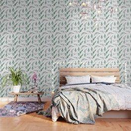 Native Gum Leaves Wallpaper