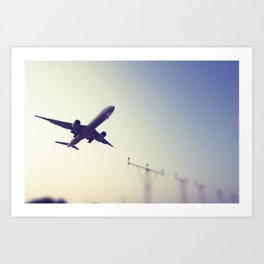 Flight3 Art Print