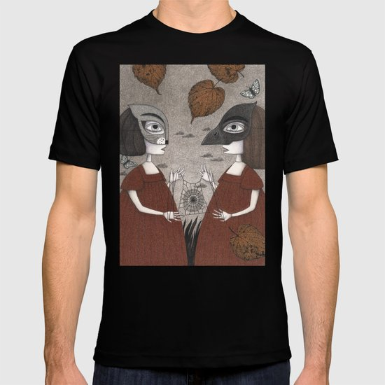 Ana and Eva (An All Hallows' Eve Tale) T-shirt