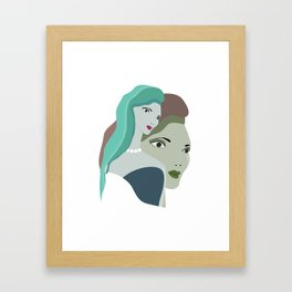 JEZEBEL no26 Framed Art Print
