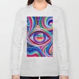 """Eye love you too"" by Audreana Cary & Adam France Long Sleeve T-shirt"