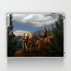 The Knight of the Kingdom Laptop & iPad Skin