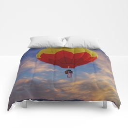 Hot-air Balloon 1 Comforters