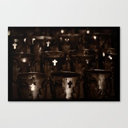 The Offering - Cathedral Basilica of St. Francis of Assisi Canvas Print