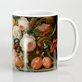 "Abraham Mignon ""Flowers and Fruit"" Coffee Mug"