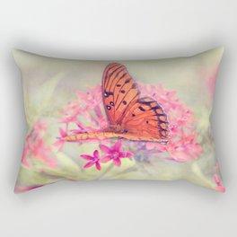 Quiet Butterfly Rectangular Pillow