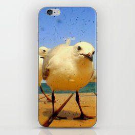 Seagulls - number 4 from set of 4 iPhone Skin