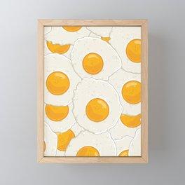 Extra eggs Framed Mini Art Print