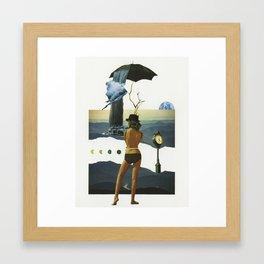 Two Worlds Apart Framed Art Print