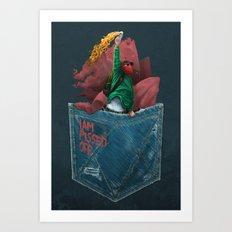 MOLOTOV - I am pissed off Art Print