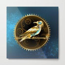Mechanical Bird ( Steampunk ) Metal Print