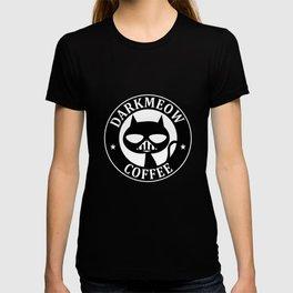 Darkmeow coffee T-shirt