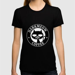 Darkmeow coffee T-shirt