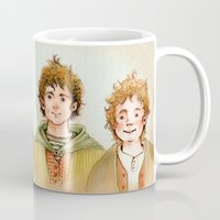friendship Mugs featuring Friendship by Ulla Thynell