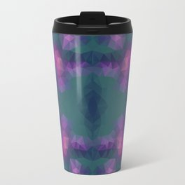 Kaleidoscopic design in bright colors Travel Mug