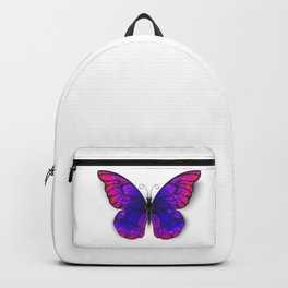 Tricolored Butterfly Backpack