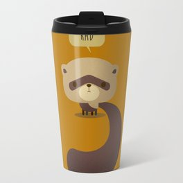 Little Furry Friends - Ferret Travel Mug