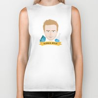 jesse pinkman Biker Tanks featuring Jesse Pinkman Breaking Bad by WreckThisGirl