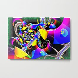 Optical Universe 3D Psychedelic Metal Print