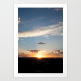NM Sunset 5 Art Print
