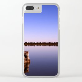 All Quiet on Lake Bonney Clear iPhone Case